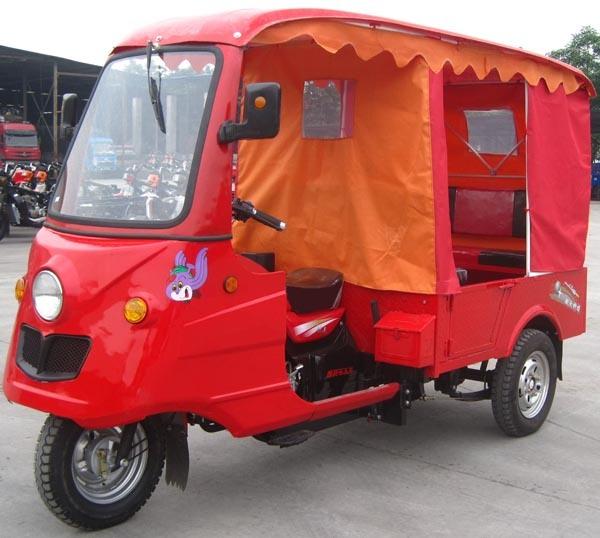 150 cc triciclo de pasajeros de taxi Three-Wheel moto