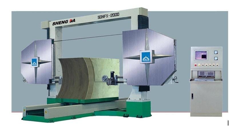 Draht-Ausschnitt-Maschine (SDNFX-2000)