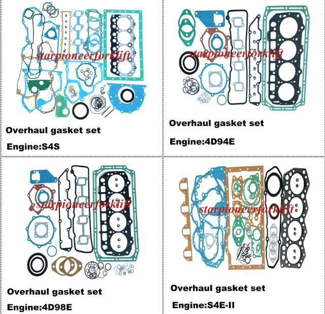 As peças do carro elevador Kits de junta completo S4s/4D94E/4D98E/S4e