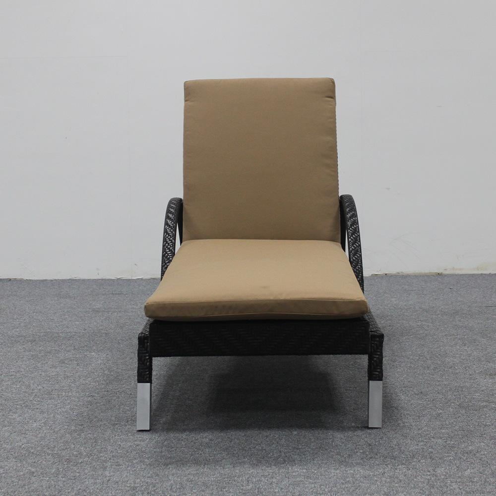 Mobilier de jardin Chaise en rotin Chaise longue Dossier ...