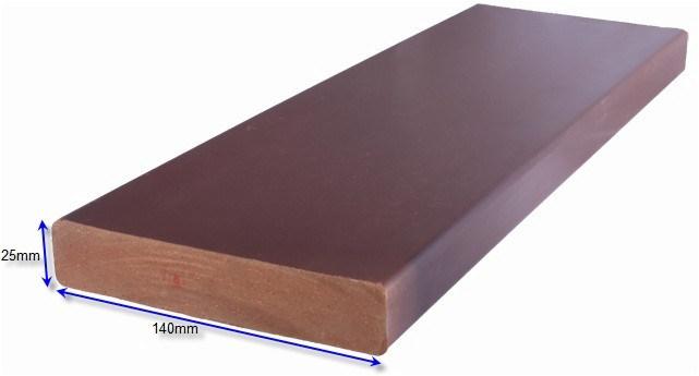 Composto di plastica di legno