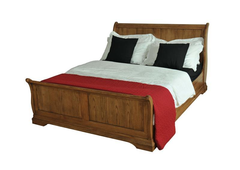 El rey Roble macizo cama trineo – El rey Roble macizo cama trineo ...