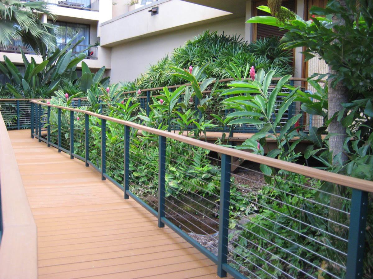 Barrière à câble à bas prix pour terrasse / Terrasse / Balcon ...