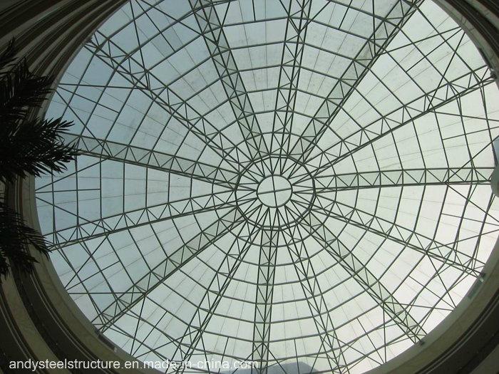 Ausgeglichenes lamelliertes Glas-Oberlicht-Haube-Dach
