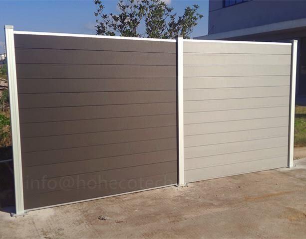舌の防水柵WPCの板のパネル6FTを持つ屋外のボード