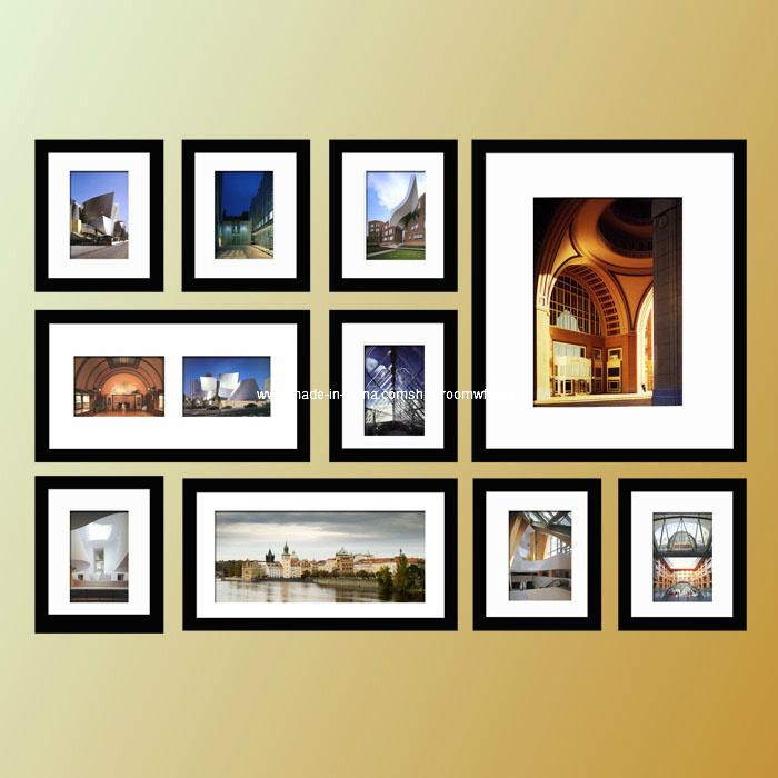 Foto de La moda Collage Marcos de Madera, marcos de fotos de la ...