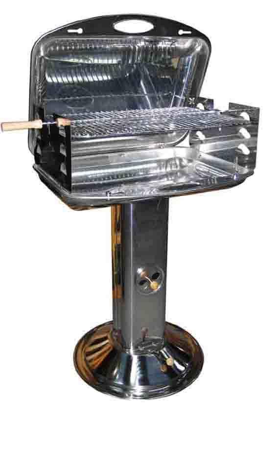 EDELSTAHL BBQ-S6452