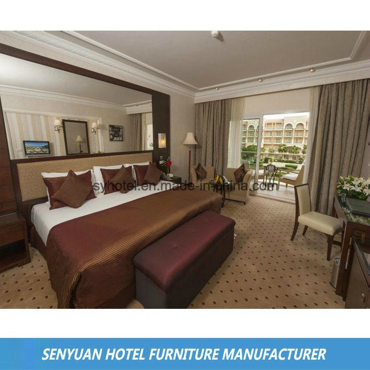 商業贅沢な普及した絵画ホテルの寝室の家具(SY-BS39)