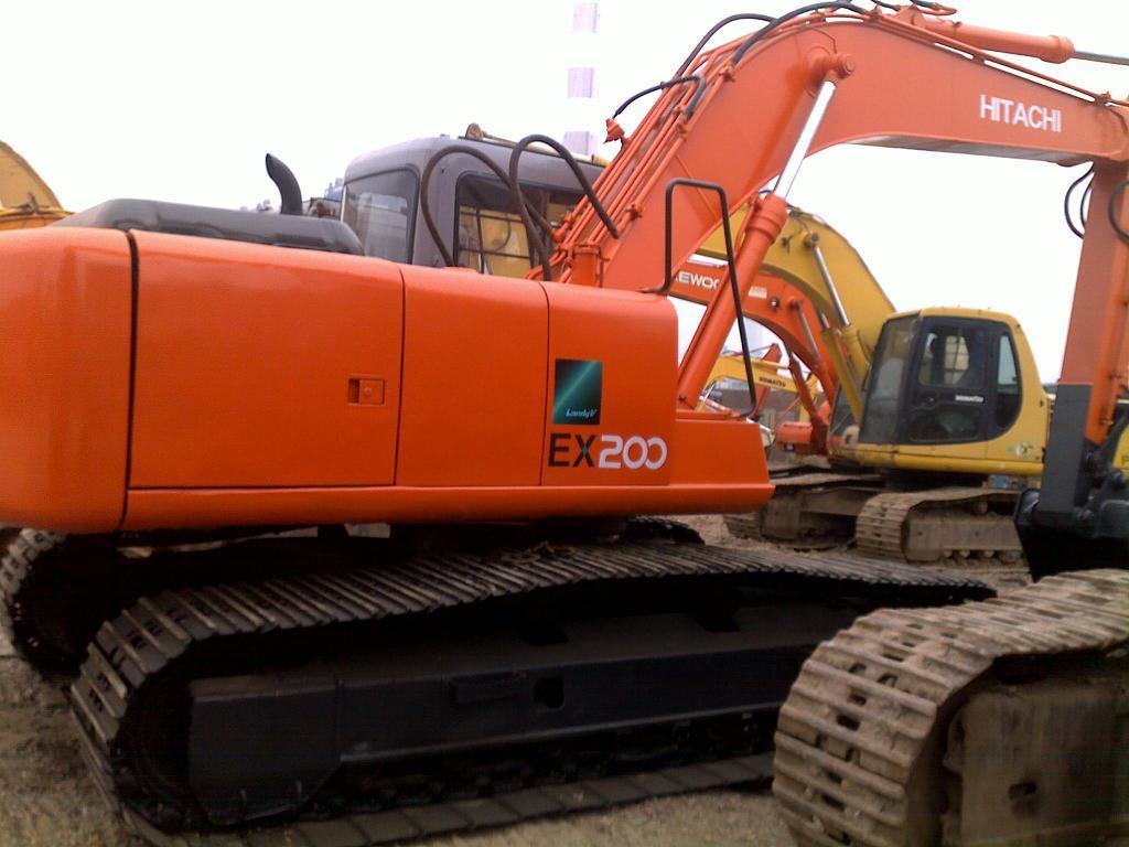 日立掘削機Ex200-1の使用された掘削機