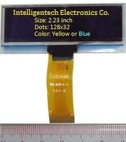 2,23-дюймовый 128x32 Моно желтый OLED-модуль (PG-2832ALBCG01)