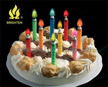 De Kaarsen van de Vlam van de kleur (1168#-w)