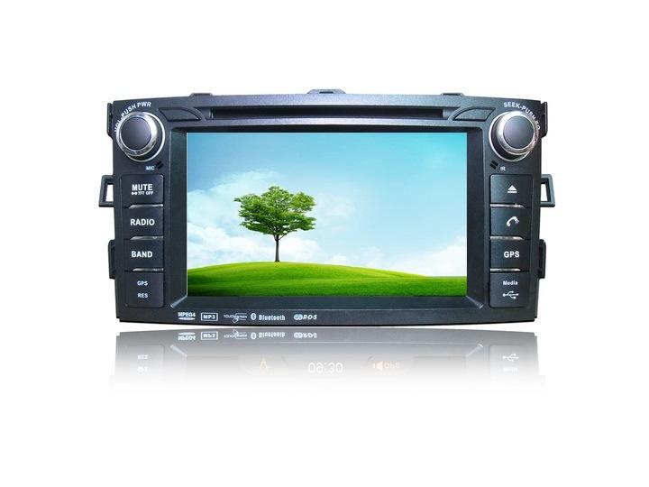 iPod 텔레비젼을%s Toyota Corolla 특별한 차 DVD GPS 8inch를 위한 Nevigation 오디오 영상 체계