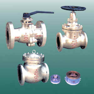 Промышленные клапаны, фланцы и фитинги трубы