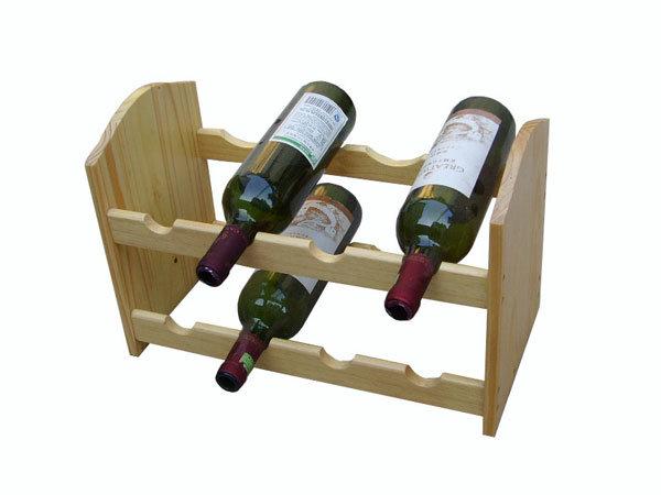 support en bois de vin de couche jd wr007 support en. Black Bedroom Furniture Sets. Home Design Ideas