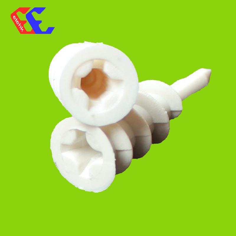 CN5091un mur blanc bouchon en nylon