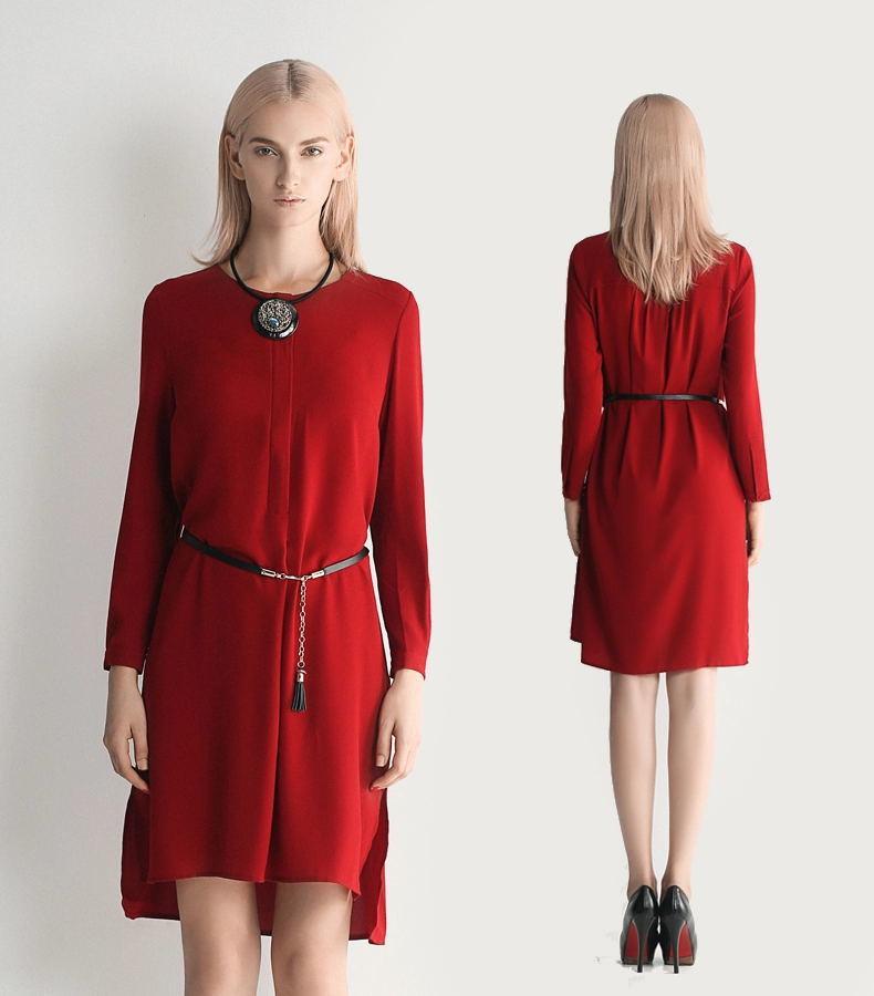 최신 판매 형식 숙녀 복장 여성복 정장 드레스