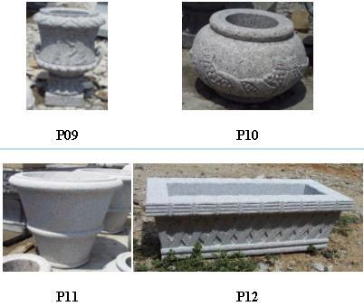 Gardenwares - Pots de fleurs - P09/P10/P11/P12
