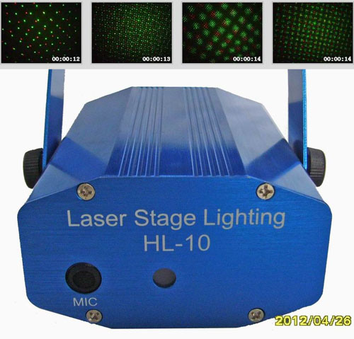 Mini luce della fase del laser