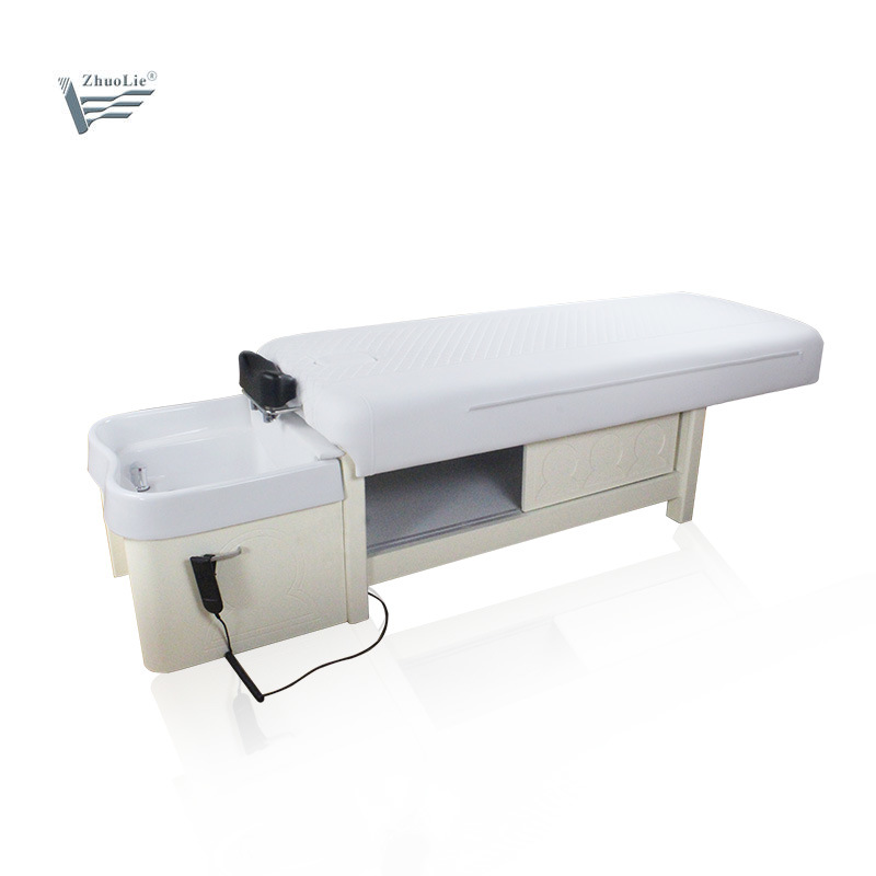 Premium Quality Hot Sale Electric Hair Shop Shampoo stoel Bed