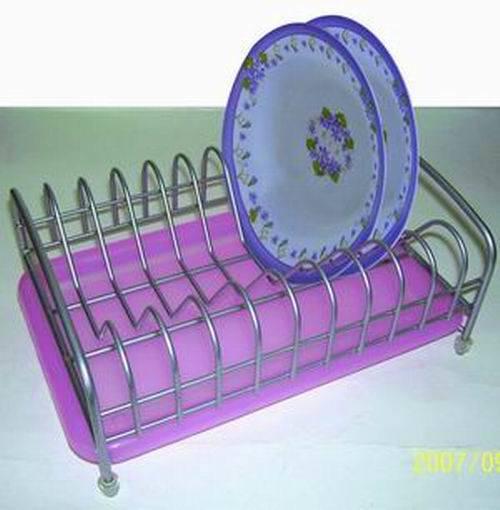ワイヤー皿棚