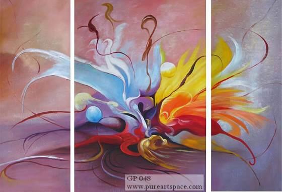 Grupo pintura a óleo (M-01)
