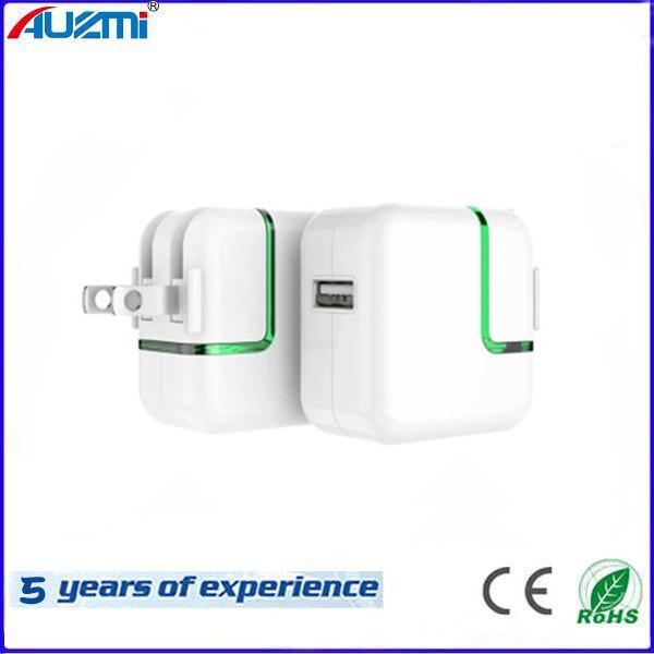 chargeur de voyage USB adaptateur électrique universel avec LED
