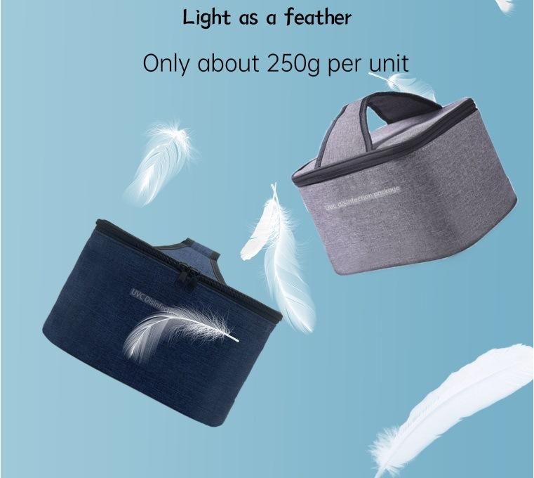 As vendas de smartphone portátil Higienizador UV LED de luz UV Celular Higienizador Dobrável Saco Esterilizador a lâmpada UV com carregador