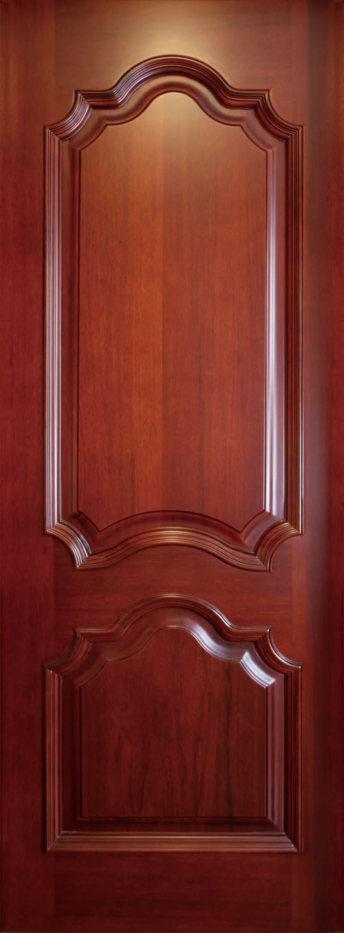 Puerta de madera interior de la chapa de la puerta de for Puertas de madera de ocasion