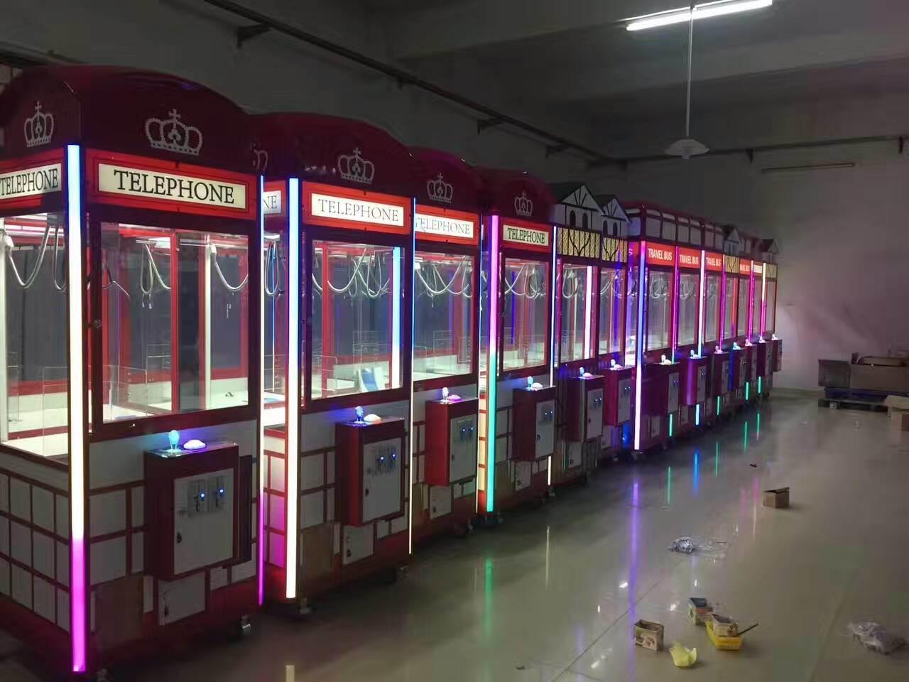 Bunter Spielzeug-Großhandelsgreifer-Prize Spiel-Maschinen-Spielzeug-Kran-Spiel-Maschine