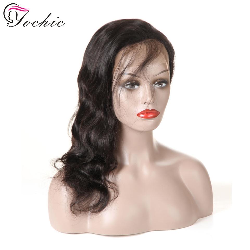 В полной мере Glueless кружева Wig оптовой 100 необработанных перуанской человеческого волоса парики