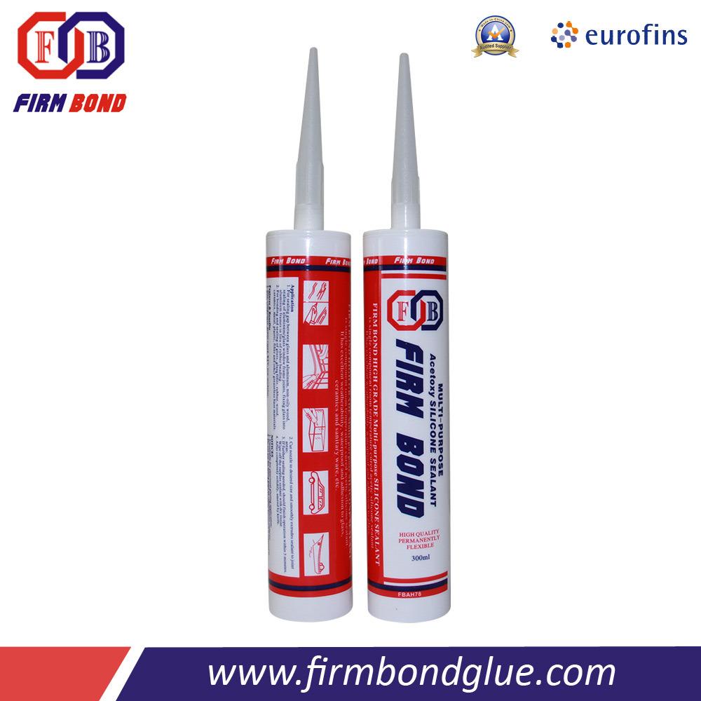 Silicone Acrylique Pour Salle De Bain blanc/ clair/noir joint silicone adhérent d'acide pour la