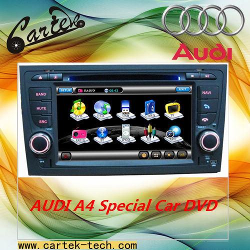 Audi A4에서 특별한 차 DVD 플레이어