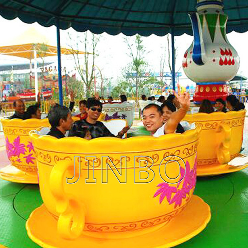 China 36 asientos giratorios Mayorista de Viajes en taza de café de atracción turística Atracciones para la venta