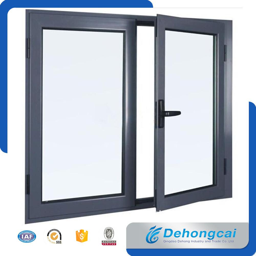 Ventana del marco de aluminio y puertas de puerta / cristal del ...