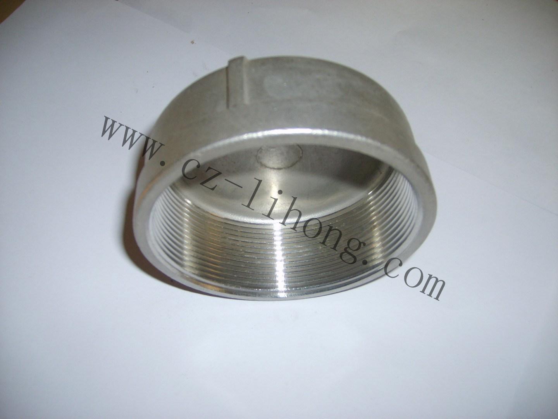 """Tappo rotondo da 1/4"""" in acciaio inox DIN2999 da fusione"""