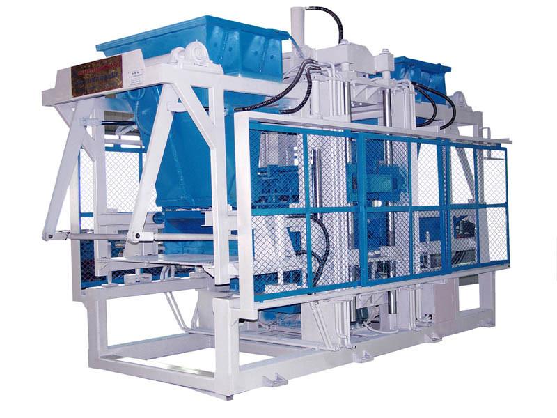 La baja inversión altas ganancias la fabricación de bloque simple línea de producción