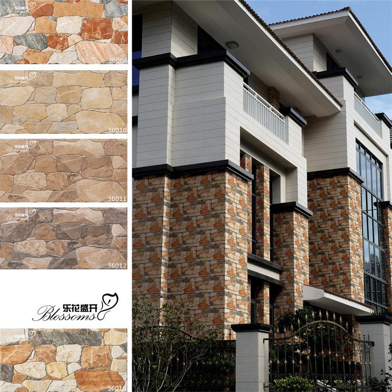 Porcelana piedra natural suelo cer mica pared exterior - Piedra suelo exterior ...
