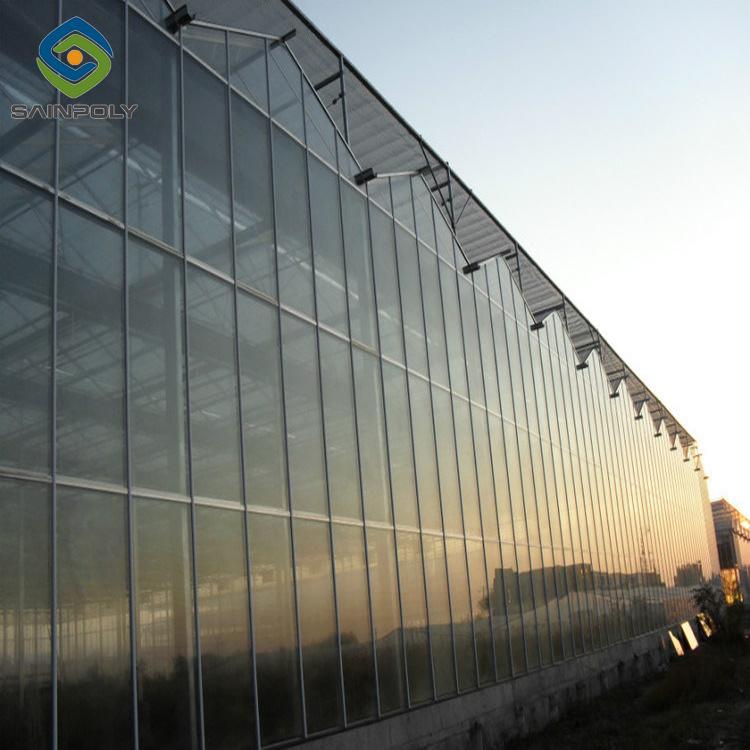 prix d'usine Venlo serres en verre utilisé pour le secteur commercial