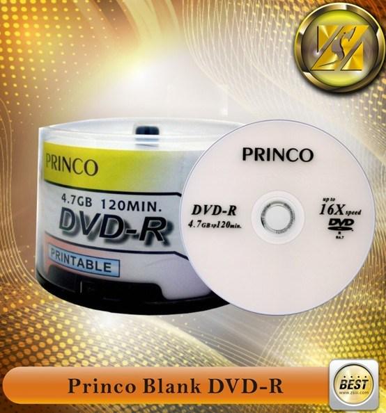 Jungfrau materielles unbelegtes Princo DVD-R