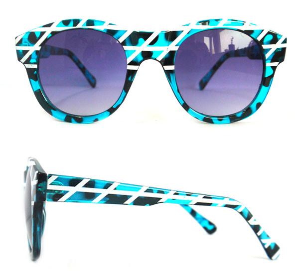 Meilleur Cheap femme colorés des lunettes de soleil/toute couleur