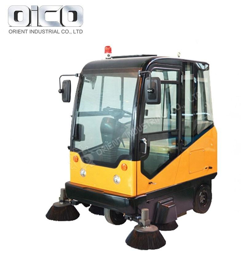 Limpeza de Ruas Industrial Vassoura de estrada do veículo para a escola/Propriedade/Fábrica