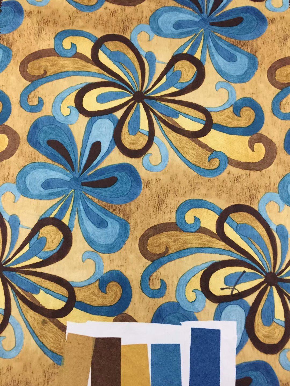 Usado para o lar, têxteis de tecido de poliéster, Sofá tecido, tecido de Cortina tecido impresso