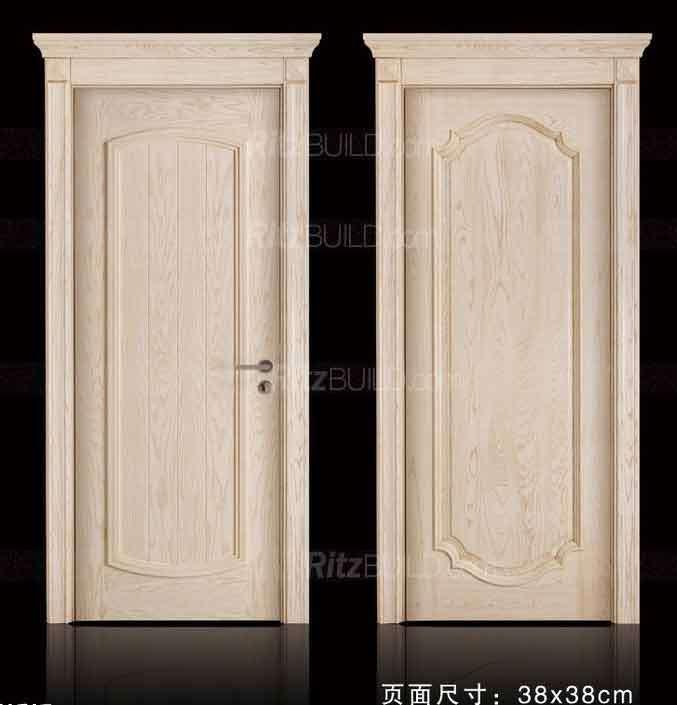 Foto de moderno ambiental interior puertas interiores for Puertas de tambor modernas