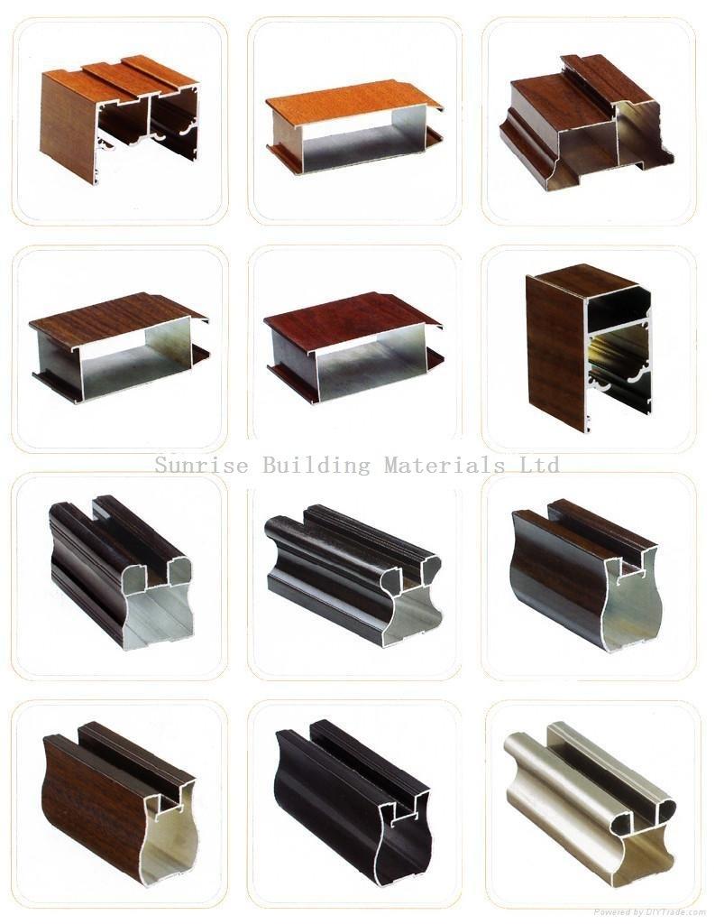 Foto de perfil de aluminio para puertas y ventanas de for Perfiles de aluminio para ventanas precios
