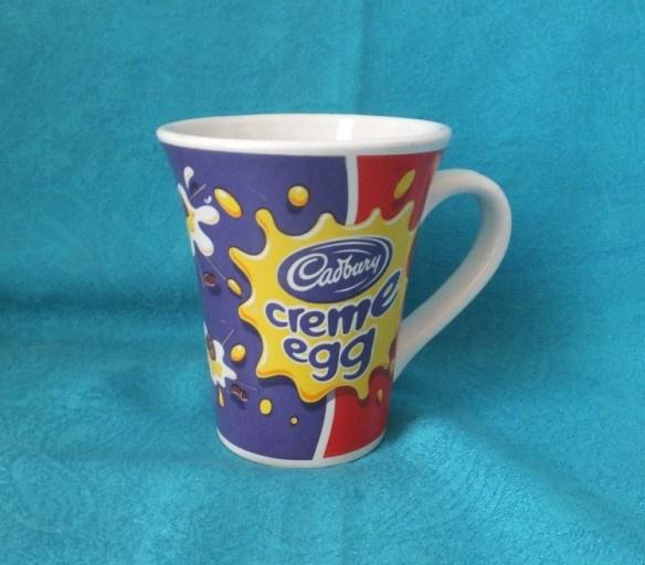 Tazza da caffè promozionale in ceramica/gres, forma a imbuto personalizzata, stampa completa delle decalcomanie Coppa (WSY674M)