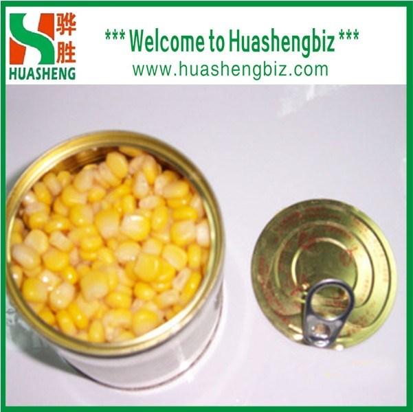 缶詰にされたスイートコーン(HSCSC-001A)