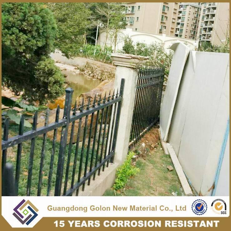 valla de chapa de aluminio perforado valla de jardn - Valla De Jardin