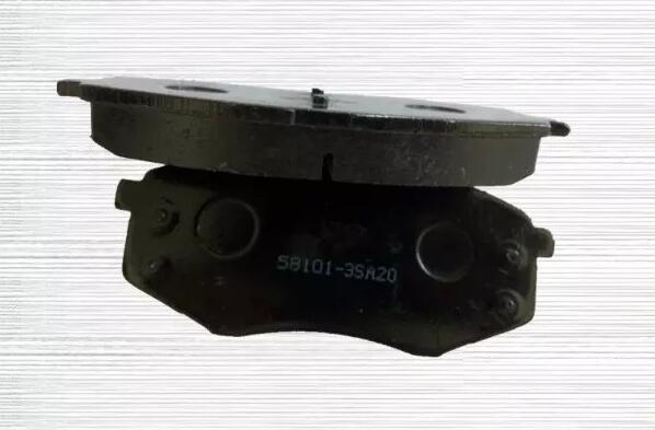 Hot Sale Plaquettes de frein 58101-1da00 pour Hyundai et Kia