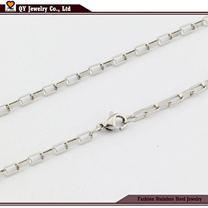 Form Box Necklace Chains Jewelry Wholesales 316L Edelstahl Jewelry