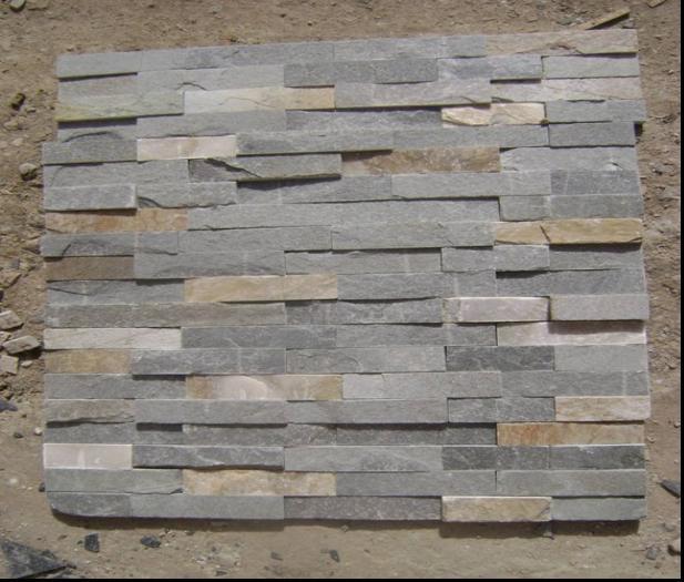 Revestimiento de la pared exterior de la piedra de la - Piedra revestimiento exterior ...